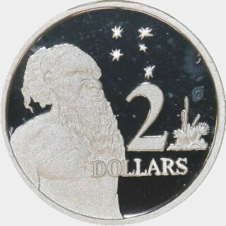 2008 Silver Proof Two Dollar reverse