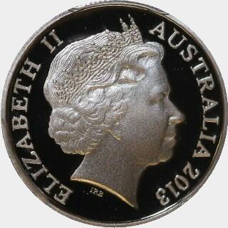2013 Proof Five Cent obverse