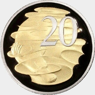 2015  Twenty Cent reverse