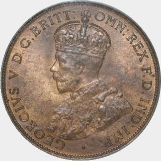 1919  Penny obverse