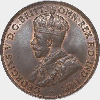1915  Penny obverse