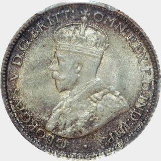 1922  Sixpence obverse