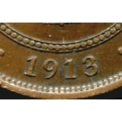 Narrow date - alternate alignment of 9