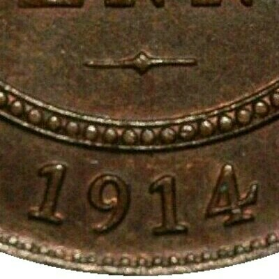 No mintmark on the 1914 plain (this issue)