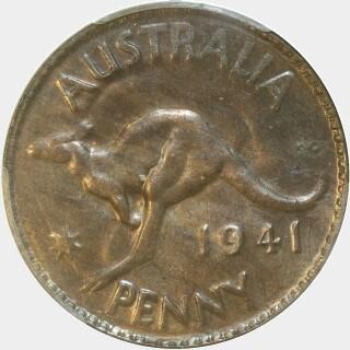 1941 K.G Penny reverse