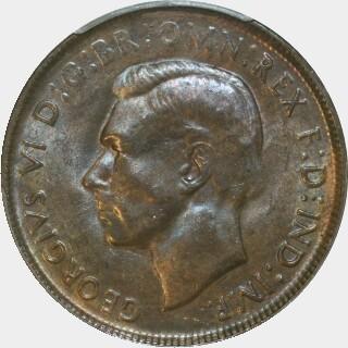 1941 K.G Penny obverse