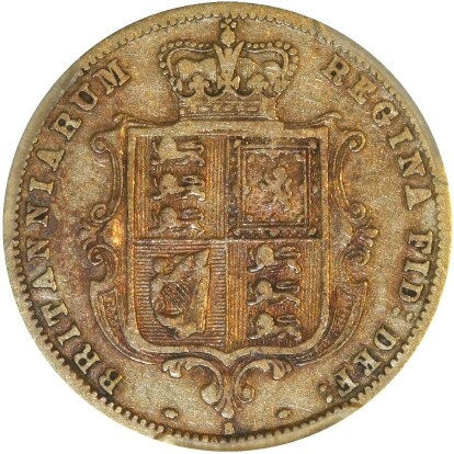 This coin, the crenulated reverse type