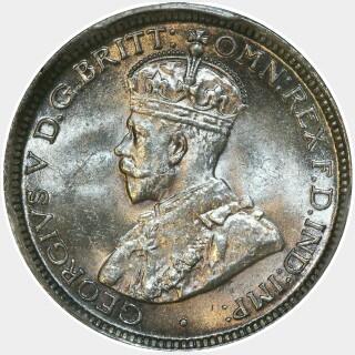 1918-M  Sixpence obverse