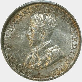 1920-M  Threepence obverse