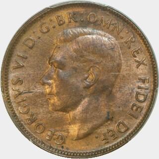 1950-Y  Penny obverse
