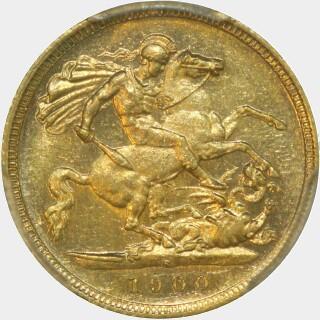 1900-S  Half Sovereign reverse