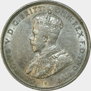 1914  Florin obverse