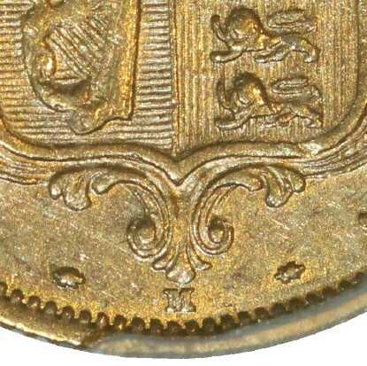 The M mintmark under the shield