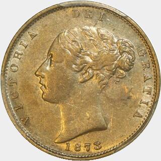 1873-M  Half Sovereign obverse