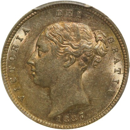 Young Head portrait (this coin)