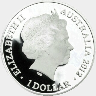 2012 Proof One Dollar obverse