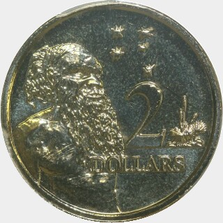 2012  Two Dollar reverse