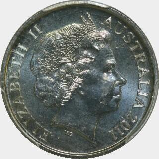 2011  Five Cent obverse