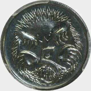 2012  Five Cent reverse