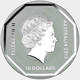 2013  Ten Dollar obverse