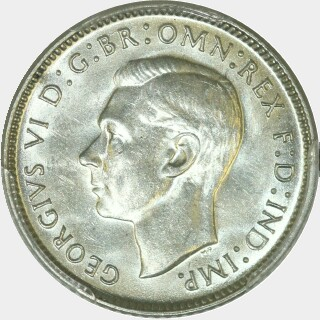 1942-S  Sixpence obverse
