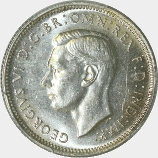 1940  One Shilling obverse