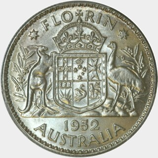 1952  Florin reverse