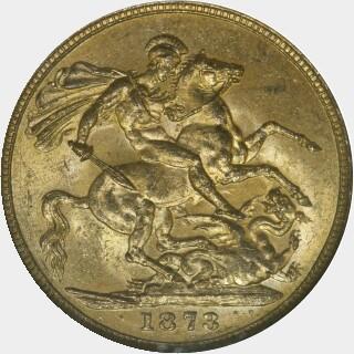 1873-M Narrow Truncation Long Tail Full Sovereign reverse