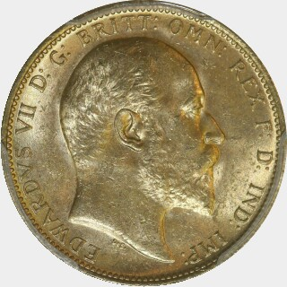 1910-S  Full Sovereign obverse