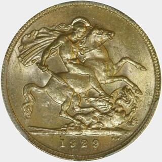 1929-P  Full Sovereign reverse