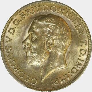 1929-P  Full Sovereign obverse