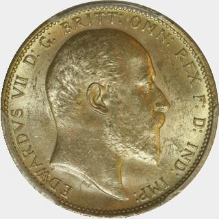 1903-S  Full Sovereign obverse