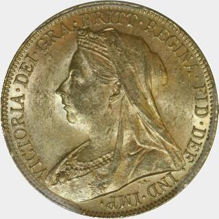 1901-P  Full Sovereign obverse