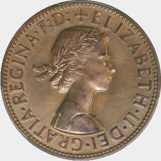 1956-Y Proof Penny obverse