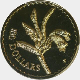 1997  One Hundred Dollar reverse