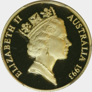 1993 Proof Two Hundred Dollar obverse