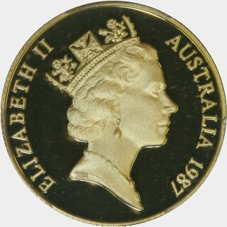 1987 Proof Two Hundred Dollar obverse