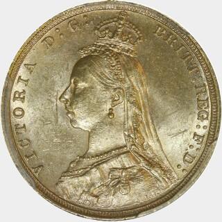 1892-S  Full Sovereign obverse