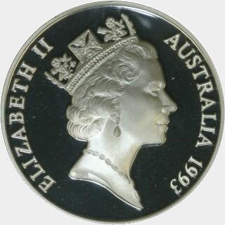 1993 Proof Ten Dollar obverse