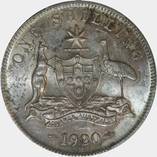 1920-M  Shilling reverse