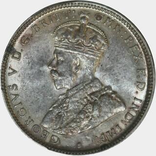 1920-M  Shilling obverse