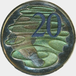 2013 Hyper Metallic Twenty Cent reverse