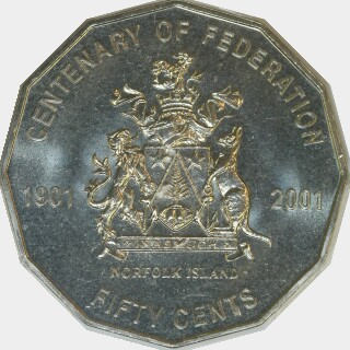 2001  Fifty Cent reverse