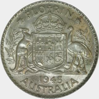 1945  Florin reverse