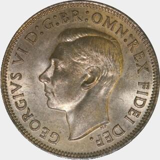1951-PL  Half Penny obverse