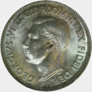1952  Shilling obverse