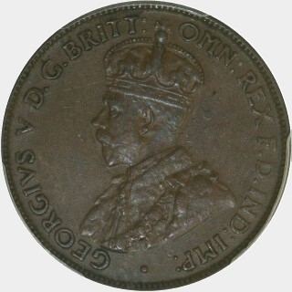 1925  Half Penny obverse
