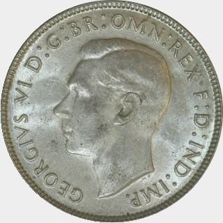 1943-S  Florin obverse