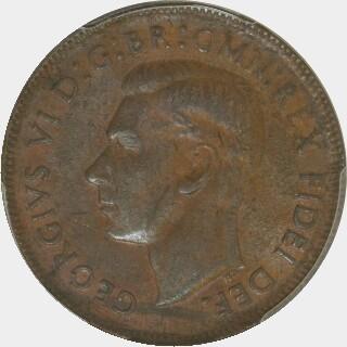 1952-A  Half Penny obverse