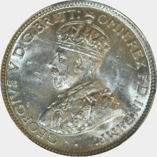 1926  Sixpence obverse
